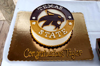 Taylor Graduation from Texas State